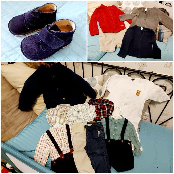 Lote ropa niño 12 a 24 meses + calzado