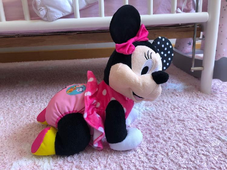 Minnie aprende a gatear