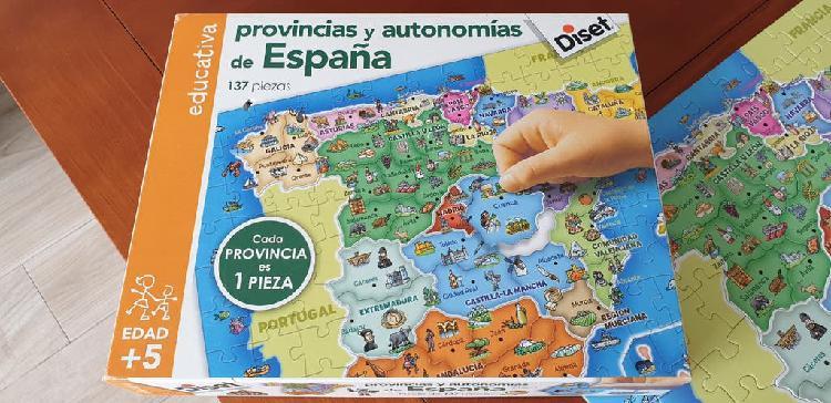 Puede de provincias y autonomías de españa