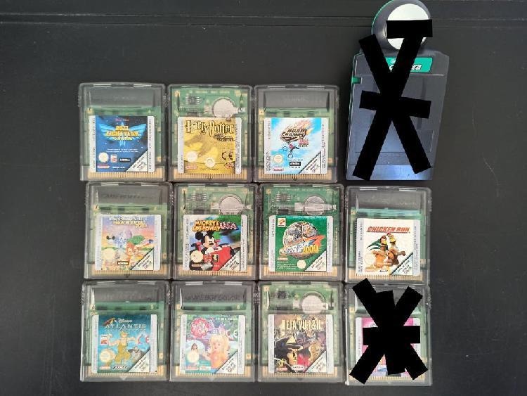 Juegos nintendo game boy color