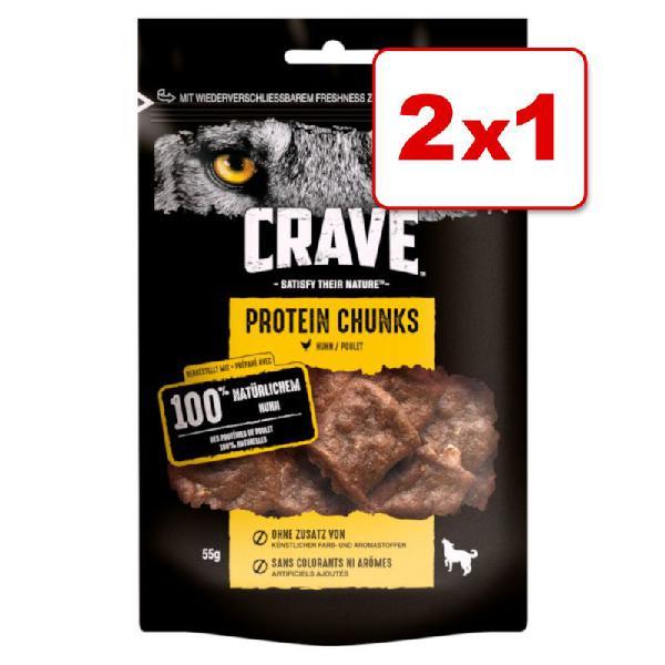 Crave protein snacks para perros en oferta 1 + 1 ¡gratis!