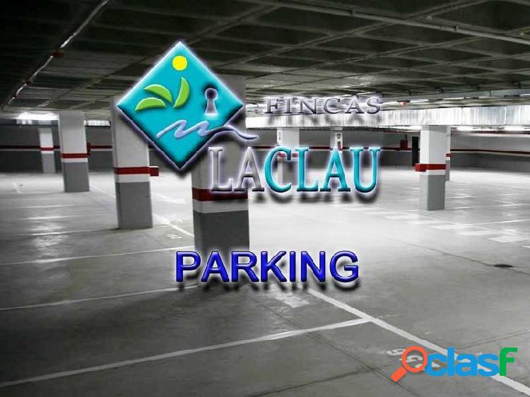 Parking en venta a 2 minutos de la estación y el centro