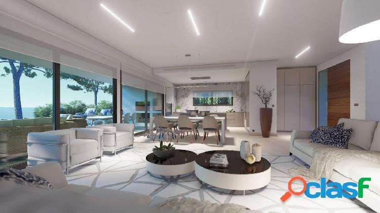 Villa de lujo de nueva construcción con vistas al mar y agradables vistas abiertas hacia Moraira 3
