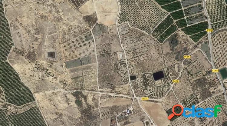 Parcelas en venta en la zona de la murada(orihuela). terreno de unos 108.000 m2.