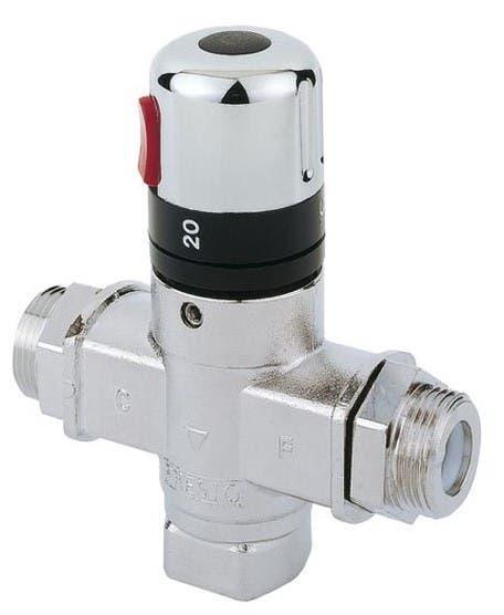 Ahorra agua caliente pon una valvula termostática