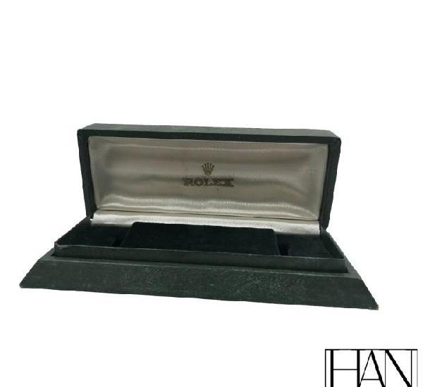 Caja original rolex de reloj antigua.