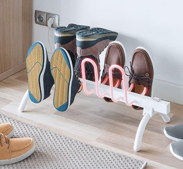Calefactor para secar o calentar calzado