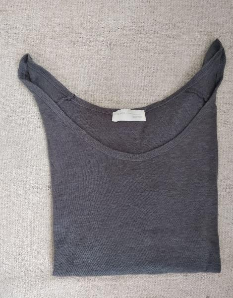 Jersey manga larga zara talla m (nuevo)