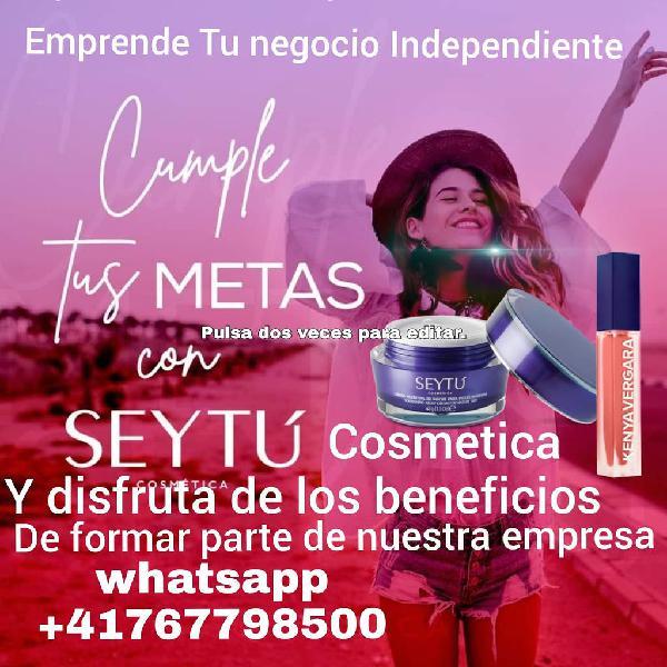 Ventas cosméticas