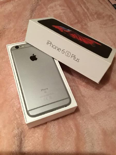Iphone 6s plus 32gb + caja + 14 fundas urgente!!!!