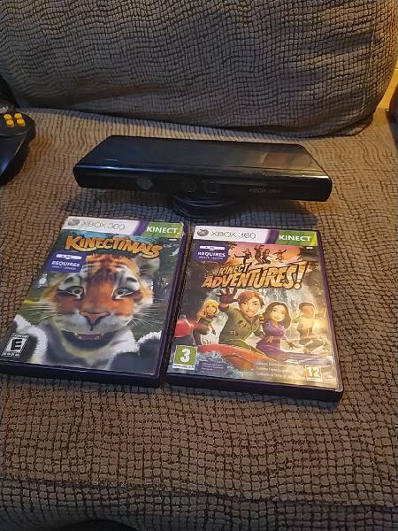 Kinect xbox 360 + juegos
