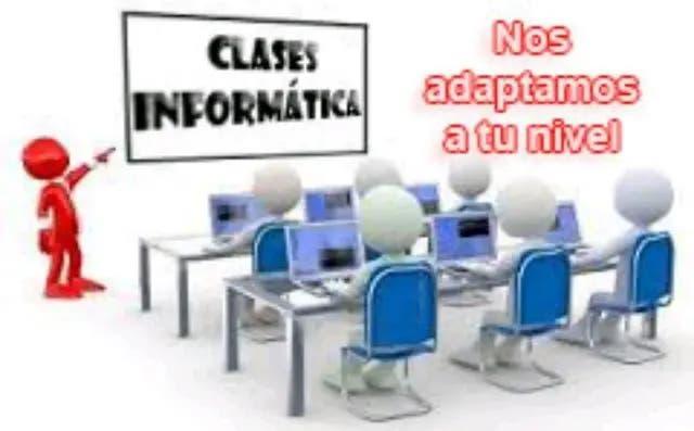 Os doy clases de informática