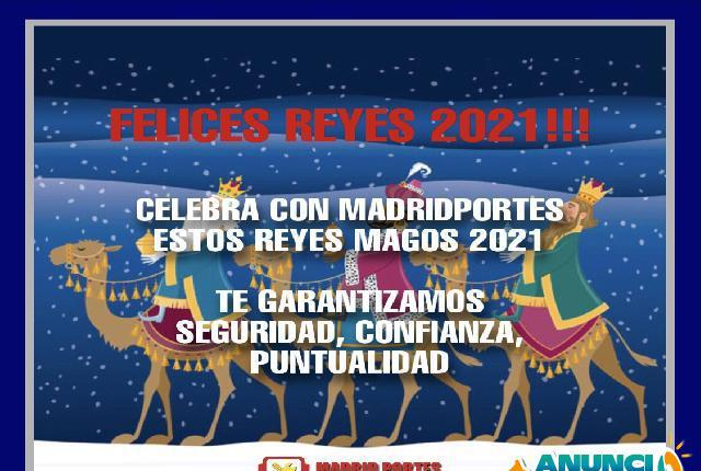 Reyes 2021 madridportes - madrid