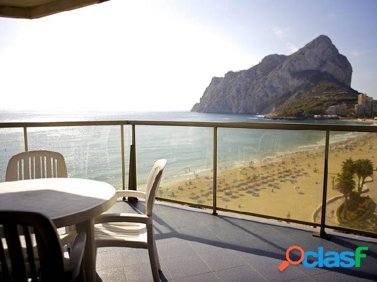 Ático dúplex en exclusivo edificio en primera línea playa / pídenos tu visita virtual