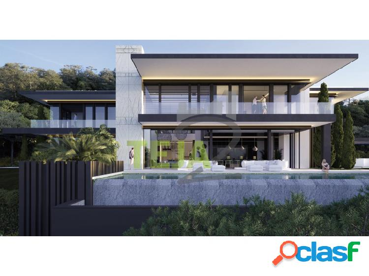 Próximo proyecto de villa en la zagaleta (benahavis)
