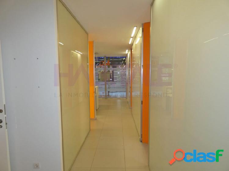 Elda centro: local 110 m2 en excelentes condiciones. 1.400 €/mes