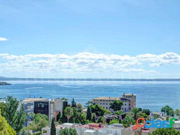 Ático con terraza privada de 125 m2 con vistas al mar y la montaña en Cas Catalá, Palma de Mallorca 1