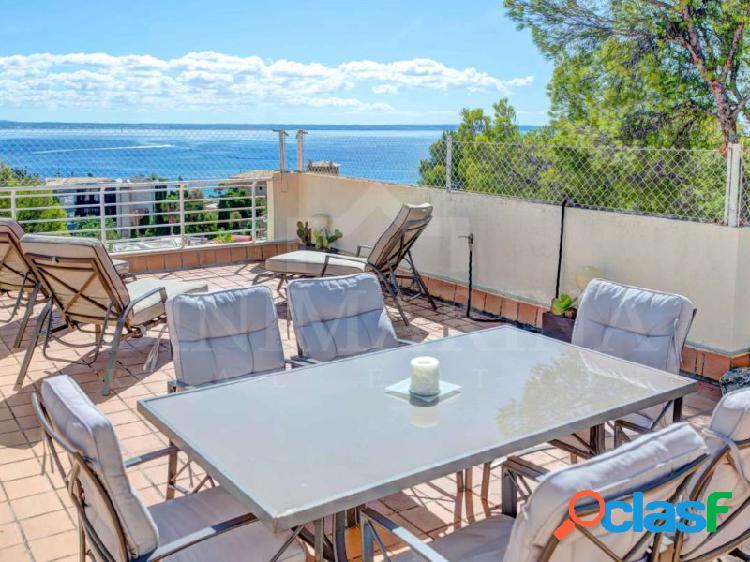 Ático con terraza privada de 125 m2 con vistas al mar y la montaña en Cas Catalá, Palma de Mallorca 2