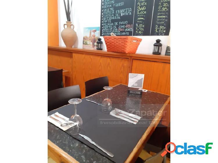 Traspaso de restaurante en pleno funcionamiento en Palma