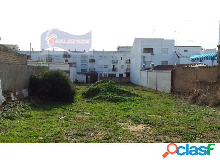 Se vende solar urbano en pleno centro del casco urbano de cartaya (huelva)
