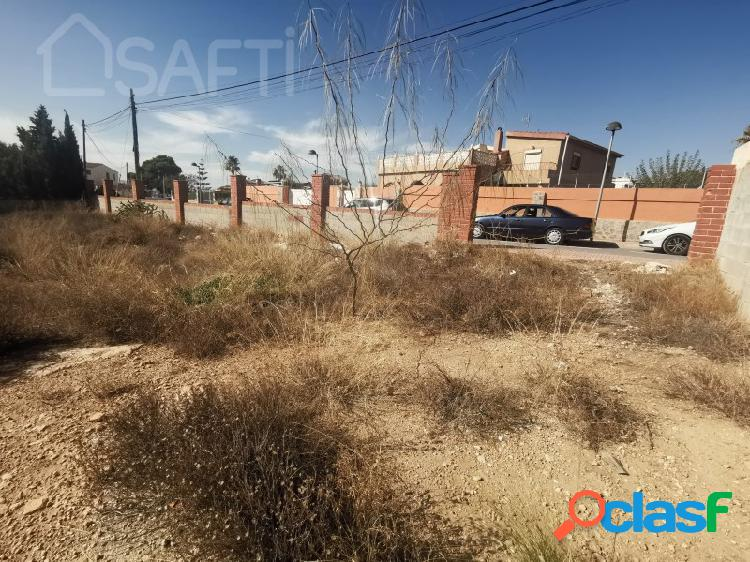 Parcela urbana en villamontes - boqueres (san vicente del raspeig)
