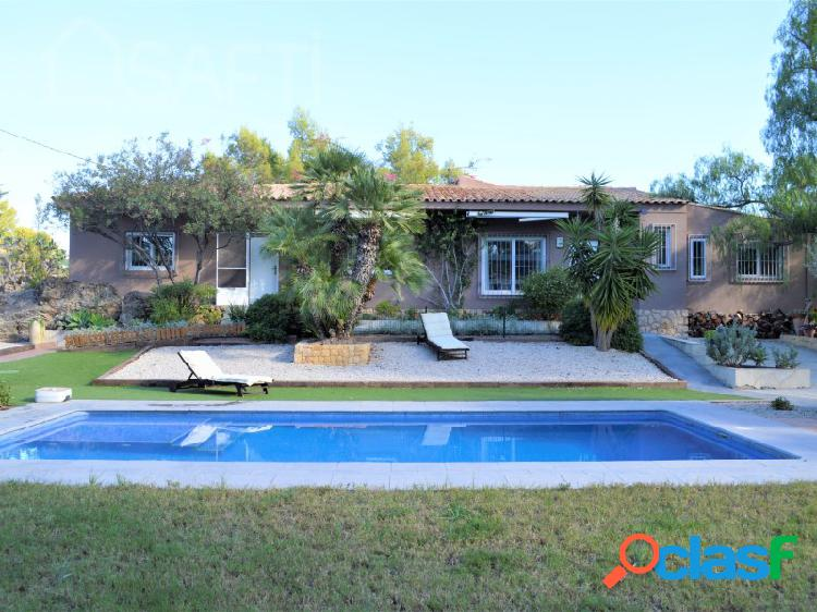 Casa unifamiliar con piscina - altea la olla.