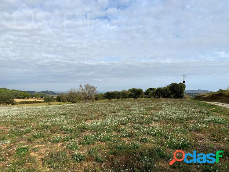 Terreno rústico en dos piezas en el camino del Mas Negre en Peratallada (Baix Empordà) 1