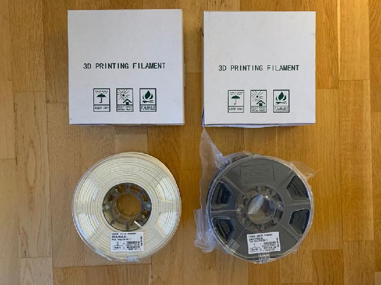 Filamento impresora 3d abs 3mm 1kg