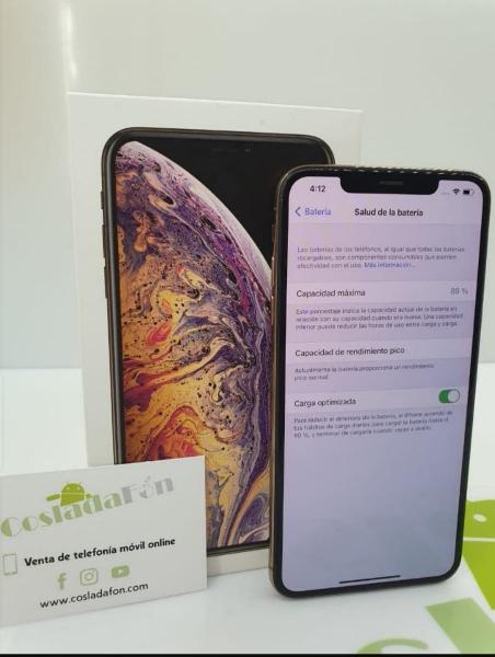 Iphone xs max 64 gb impoluto