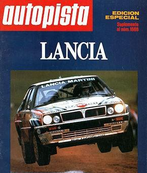 Lancia rallye autopista edicion especial 037 s4 delta