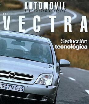 Opel vectra publicidad reportaje