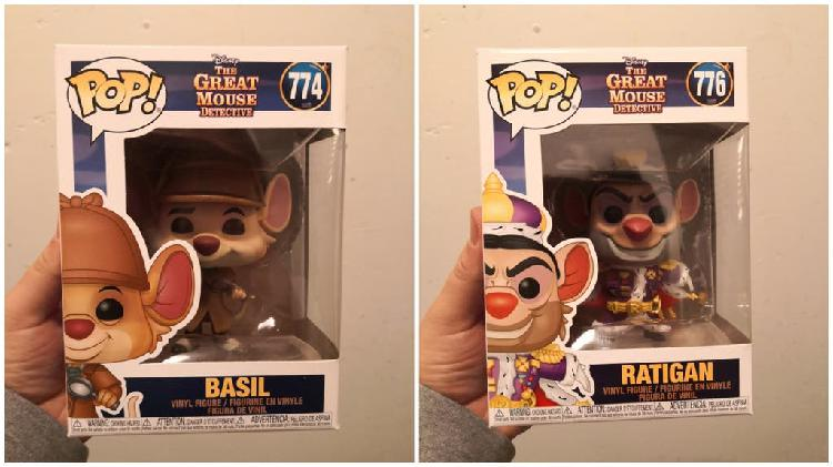 Pack funko pop the great mouse detective