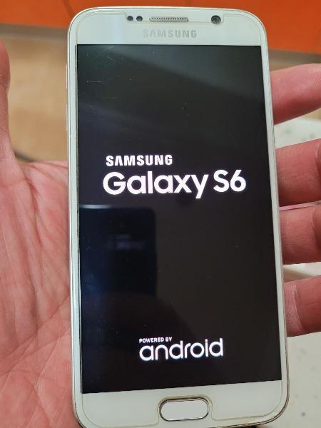 Samsung galaxy s6 de 32gb white pearl (blanco).