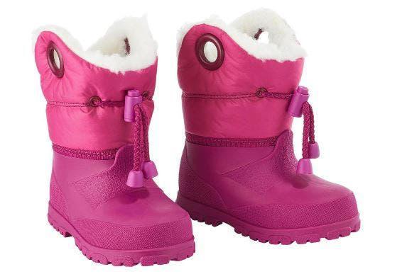 Guantes nieve niños y botas nieve talla 31/32