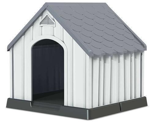 Caseta de resina para perros 92x97x99cm 7house