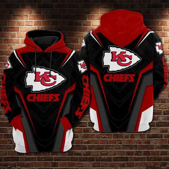 Kansas city chiefs 3d full printing hoodie, kansas city