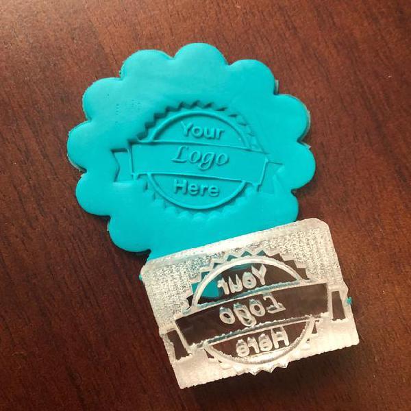 Personalizado personalizado borrar sello de galleta de