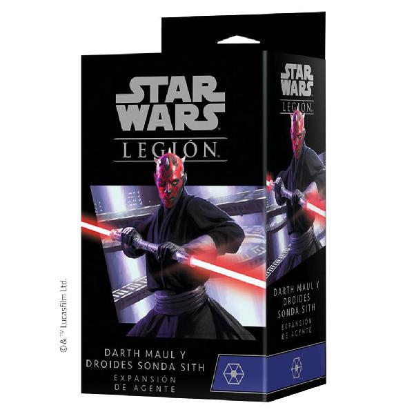 Star wars legión: darth maul & sith probe droids expansión