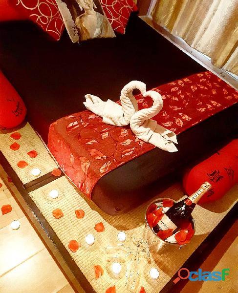 ALQUILER DE HABITACIONES MUY ROMANTICAS Y ASEADAS
