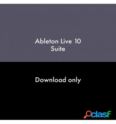 Ableton live 10 suite upgrade intro