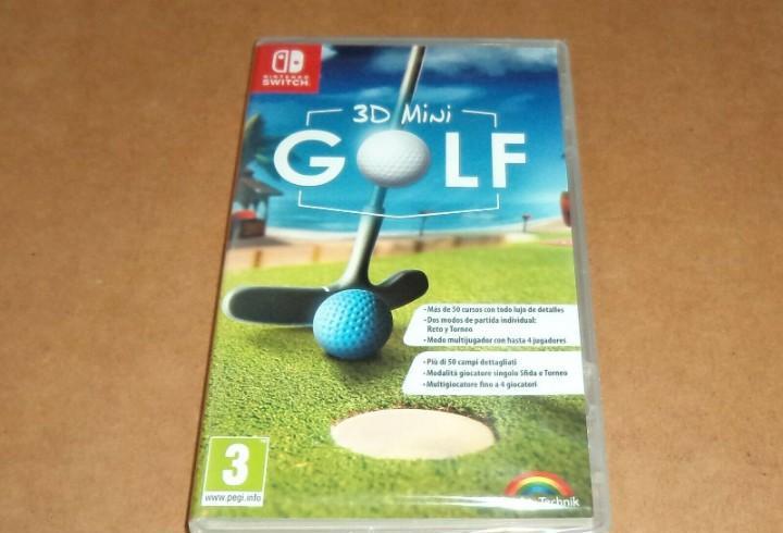 3d mini golf, a estrenar para nintendo switch, pal