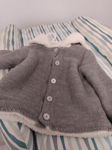 Abrigo bebé talla 80 sin estrenar
