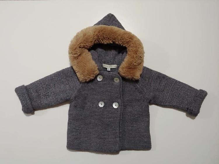 Abrigo gris mia & lia