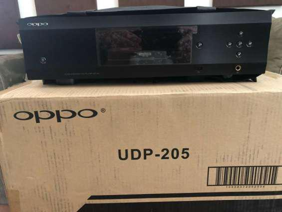 Am selling my used oppo udp-205 4k blu-ray player en aguilar