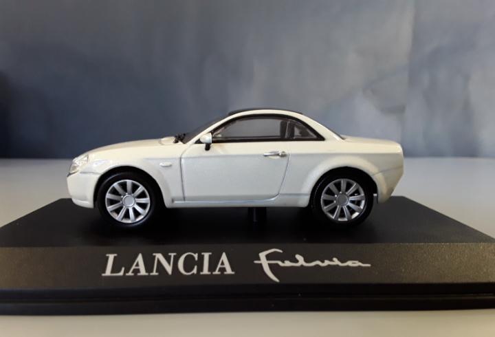 Coche lancia fulvia coleccion concept cars, ixo altaya