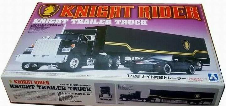 Consultar. knight rider. trailer camion montaje. el coche