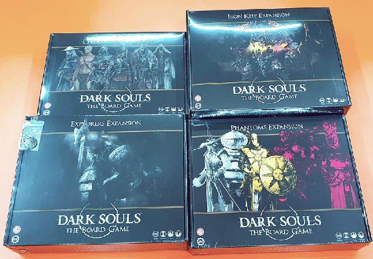 Extras de kickstarter del juego de mesa dark soul