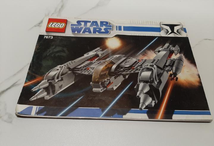 Instrucciones lego star wars 7673