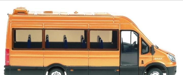 Iveco minibus daily tourys - irisbus - (escala 1:43) -