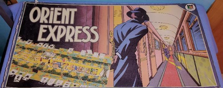 Juego orient express de diset año 1986 completo